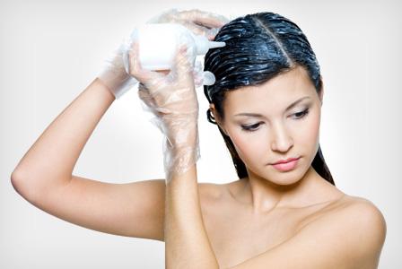 hårfarvning og amning