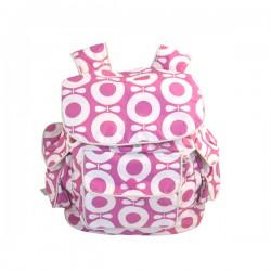 Katvig rygsæk i pink