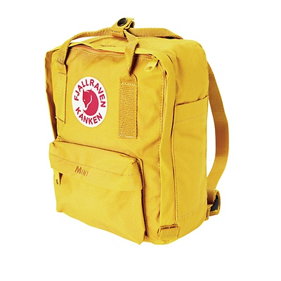 Mini udgave af Fjällräven rygsæk til børn