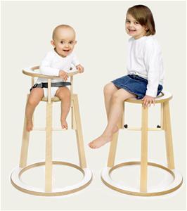 Rinki stolen kan bruges fra 6 mdr. gammel og til voksne