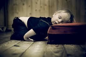 jeg faldt i søvn